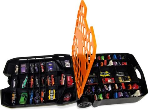 Hot Wheels 100 Car Rolling Case Great For Kids On The Go