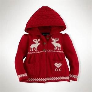 filles pull en tricot robe enfants de noel wapitis volants With robe ralph lauren bebe