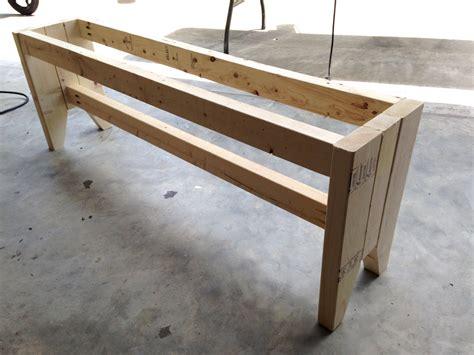 Diy Farmhouse Bench  Free Plans  Rogue Engineer