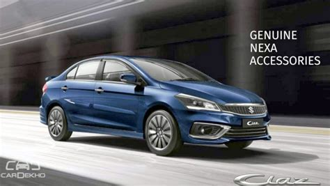 maruti ciaz launch today sport kit comfort kit