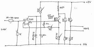 Figure B 2  Point Heat Source Control Circuit Sketch