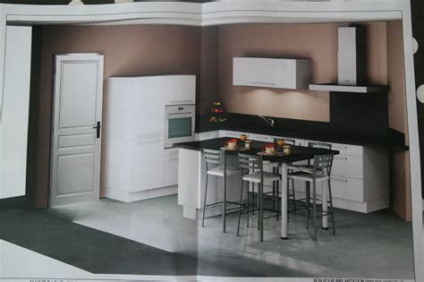 cuisinella cuisine meuble frigo cuisinella