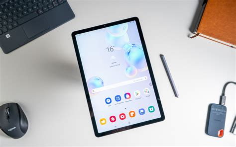 samsung galaxy tab s6 review the fastest android tablet