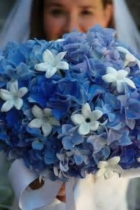 blue wedding flowers blue hydrangea wedding flowers sang maestro