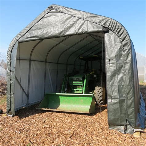 portable garage shelter 12 to 14 wide rv cer shelters portable garage cover