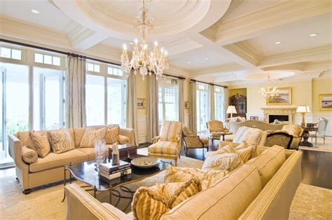 sophisticated gold living room designs