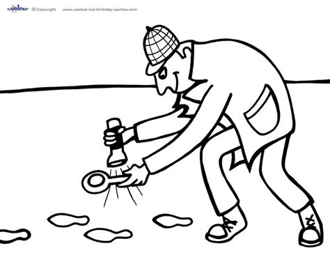 Spy Coloring Pages Printable Sketch Coloring Page