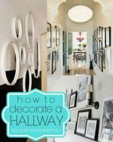 house plans for narrow lots 15 ways to decorate a hallway remodelaholic