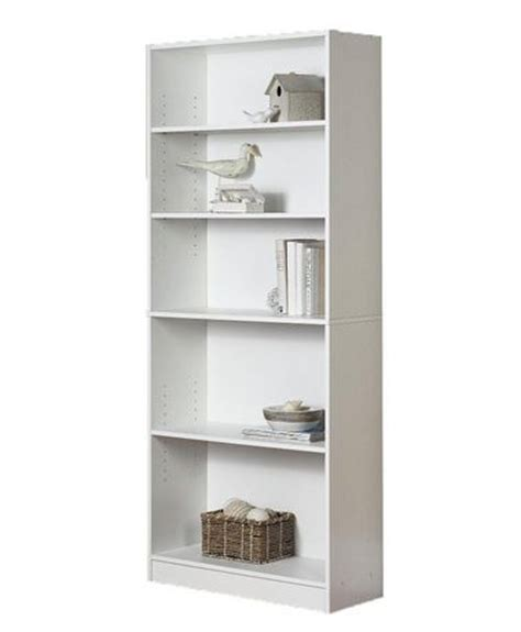 walmart bookshelf white mainstays 5 shelf bookcase walmart ca