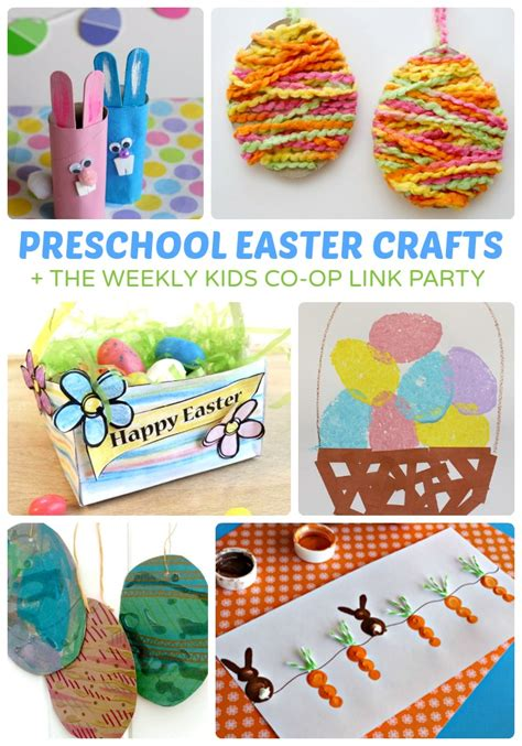 adorable preschool easter crafts b inspired 670 | Adorable Preschool Easter Crafts The Kids Co Op Link Party at B Inspired Mama