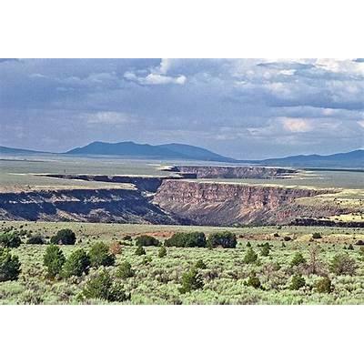 Rio Grande Gorge Taos New MexicoTaos Mexico