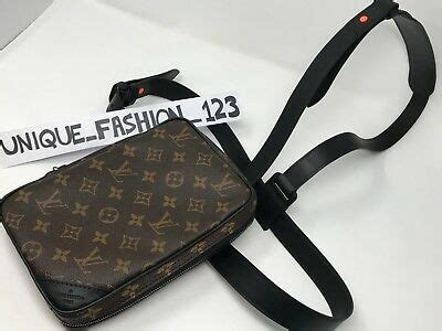 louis vuitton virgil abloh monogram denim keepall  ocre duffle bag travel  picclick