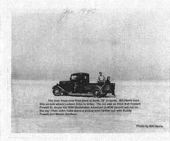 Boat Parts Guntersville Al by Lake Guntersville Frozen Solid In January 1940 Photo By