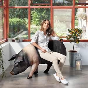 Pro Idee Garten : sitz schwein 3 jahre garantie pro idee ~ Pilothousefishingboats.com Haus und Dekorationen
