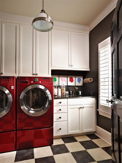 beautiful  efficient laundry room designs hgtv