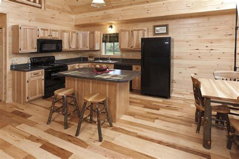 pine kitchen islands log cabin kitchens with modern and rustic style