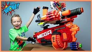 Giant Nerf Gun Combos Made From Our Nerf Arsenal