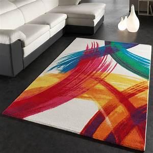 Teppich Bunt Modern : teppich canvas kinder teppiche ~ Frokenaadalensverden.com Haus und Dekorationen