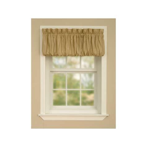 Essential Home Pouf Valance   Curtain Drapery.com