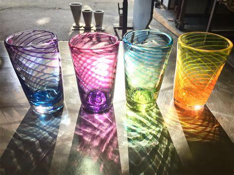 drinking glasses viscosity