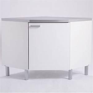 Meuble Tv D Angle Blanc : petit meuble tv alinea meuble d angle blanc ~ Teatrodelosmanantiales.com Idées de Décoration