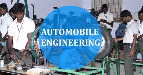 automobile engineering syllabus colleges eligibility
