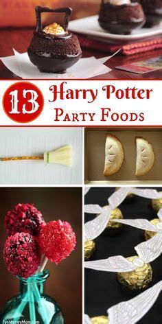 harry potter birthday party food ideas  birthday party