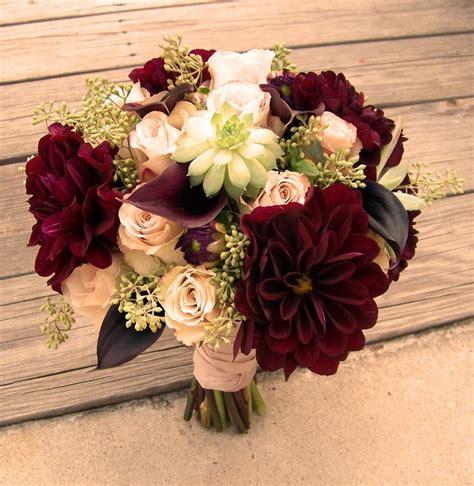 maroon wedding flowers  wedding flowers   ideas