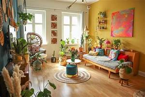 Colourful, Interior, Inspiration, From, A, Retro, Boho, Berlin