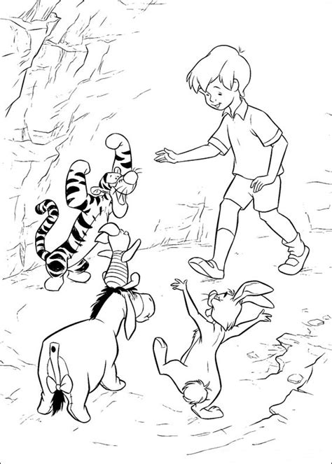 fun coloring pages winnie  pooh coloring pages