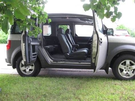 Sell Used 2003 Honda Element Manual Transmission Silver