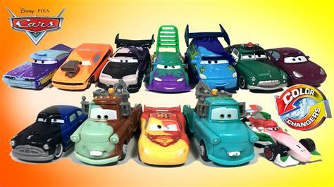 color changer cars 12 disney pixar cars color changers shifters lightning