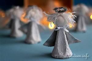 Basteln Mit Eierkartons Frühling : recycling basteln mit kindern engel aus eierkarton ~ Frokenaadalensverden.com Haus und Dekorationen
