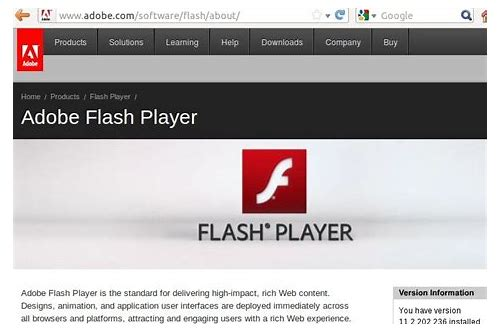 download standalone flash player installer