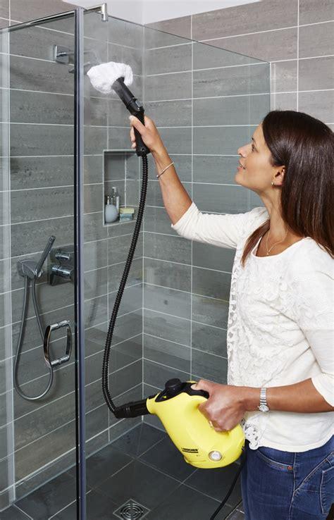 shower cleaning karcher steam cleaner sc1 steam stick mop k 228 rcher center sce