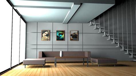 house interior free 3d model obj max free3d