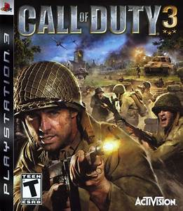 Call Of Duty 3 For PlayStation 2 2006 MobyGames