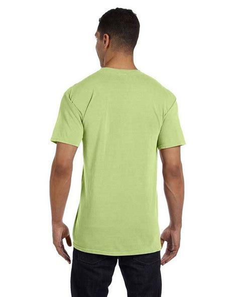 comfort color tees comfort colors 6030cc garment dyed pocket t shirt