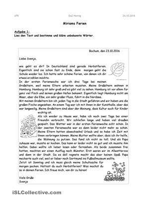 briefe schreiben  schreiben  deutsch briefe