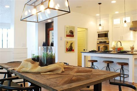 modern farmhouse dining room lighting modern farmhouse dining room kitchen