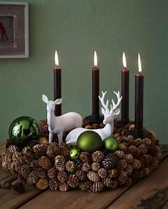 Weihnachtsdeko Ideen Selbermachen : basteln mit tannenzapfen 50 diy ideen deko feiern ~ Orissabook.com Haus und Dekorationen