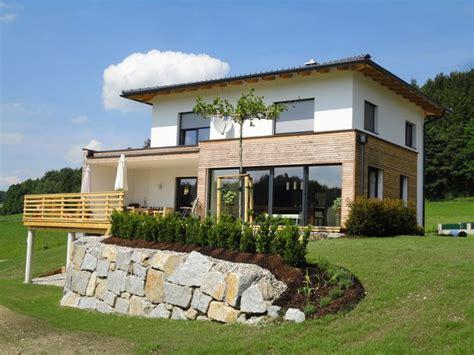 Moderne Häuser Aus Holz by Haus Modern Fassade Holz Und Suche H 228 User