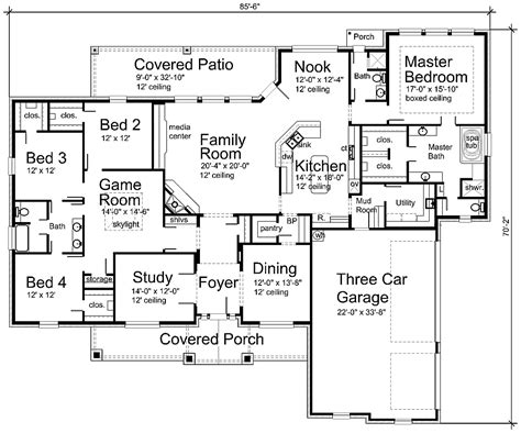 home plan com luxury house plan s3338r house plans 700