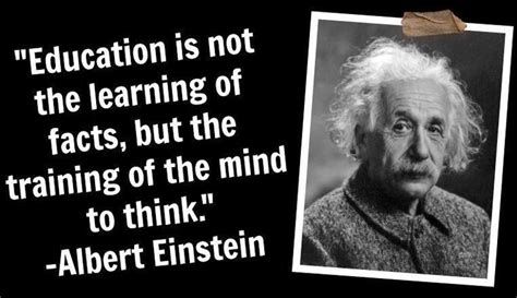 Famous Education Quotes By Albert Einstein  Quotesta