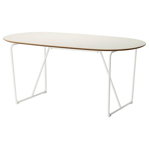 ikea white dining table sl 196 hult table white backaryd white 185x90 cm ikea