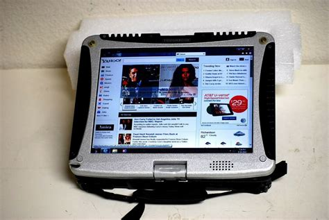 Panasonic Toughbook Cf19 Windows 7 Pro Touch Screen Wifi