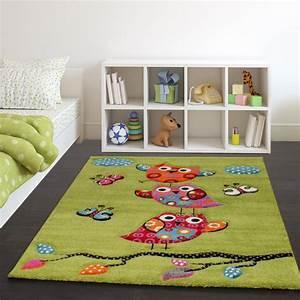 Teppich Für Essbereich : kinder teppich niedliche eulen gr n creme rot blau orange ~ Michelbontemps.com Haus und Dekorationen
