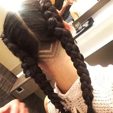 chic edgy undercut design ideas hair motive hair motive