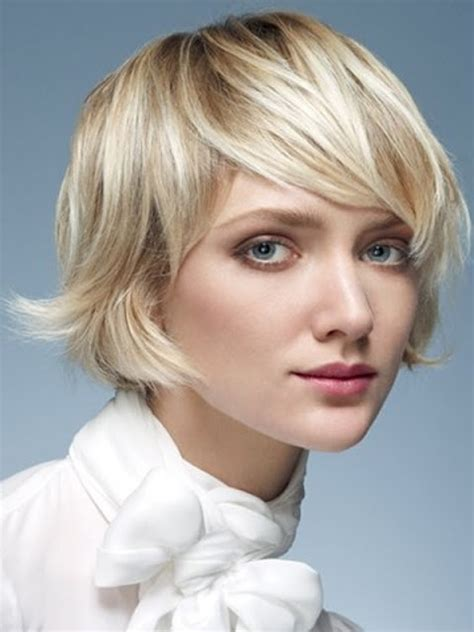 medium length haircut full fringe hairstyles