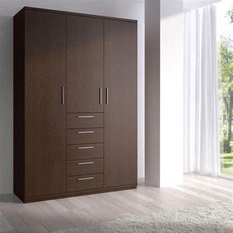 bedroom stylish brown wardrobe rs  square feet